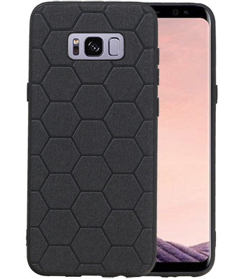 Hexagon Hard Case voor Samsung Galaxy S8 Plus Zwart