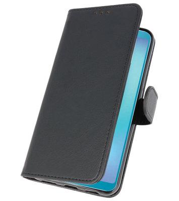 Bookstyle Wallet Cases Hoesje voor Samsung Galaxy A8s Zwart