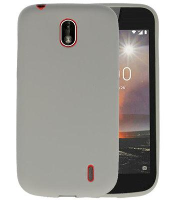 Grijs Color TPU Hoesje voor Nokia 1