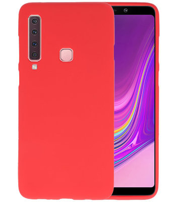 Rood Color TPU Hoesje voor Samsung Galaxy A9 2018