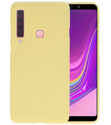 Geel Color TPU Hoesje voor Samsung Galaxy A9 2018