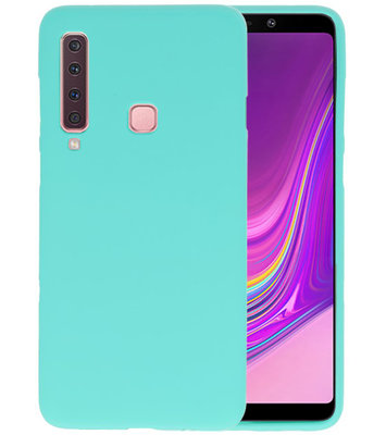 Turquoise Color TPU Hoesje voor Samsung Galaxy A9 2018