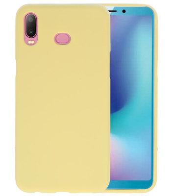 Geel Color TPU Hoesje voor Samsung Galaxy A6s