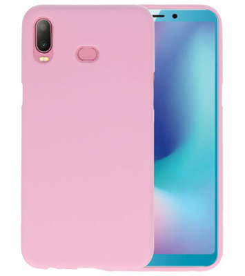 Roze Color TPU Hoesje voor Samsung Galaxy A6s