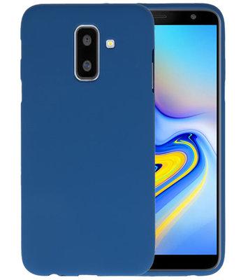 Navy Color TPU Hoesje voor Samsung Galaxy A6 Plus