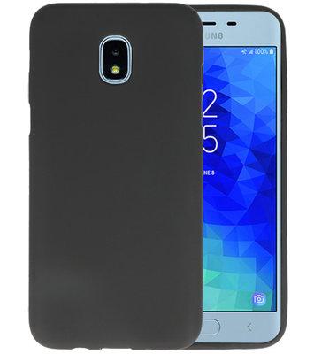 Zwart Color TPU Hoesje voor Samsung Galaxy J3 2018