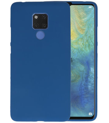 Navy Color TPU Hoesje voor Huawei Mate 20 X