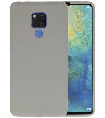Grijs Color TPU Hoesje voor Huawei Mate 20 X