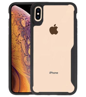 Zwart Focus Transparant Hard Cases iPhone XS Max