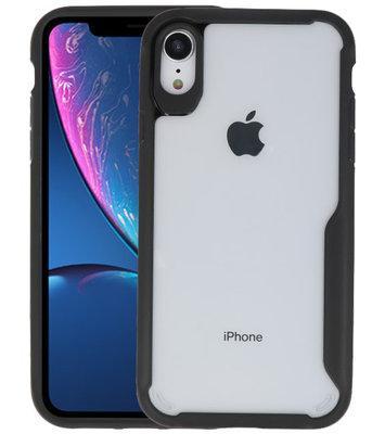 Zwart Focus Transparant Hard Cases voor iPhone XR