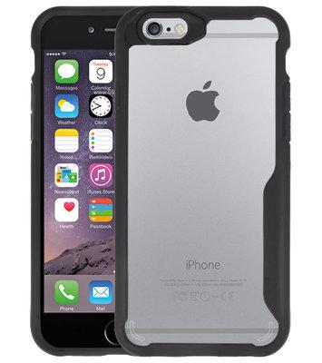 Zwart Focus Transparant Hard Cases voor iPhone 6