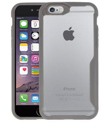 Grijs Focus Transparant Hard Cases voor iPhone 6