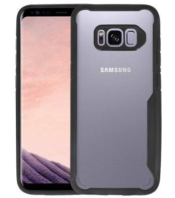 Zwart Focus Transparant Hard Cases voor Samsung Galaxy S8