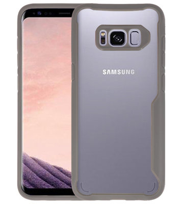 Grijs Focus Transparant Hard Cases voor Samsung Galaxy S8