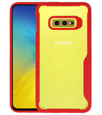 Rood Focus Transparant Hard Cases Samsung Galaxy S10e