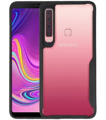 Zwart Focus Transparant Hard Cases Samsung Galaxy A9 2018