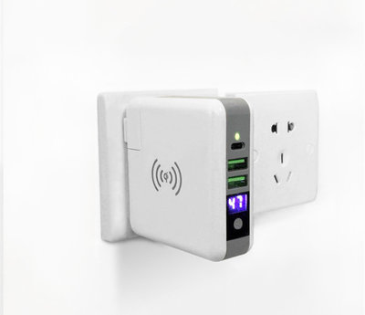 Travel en Draadloze Oplader Power Bank