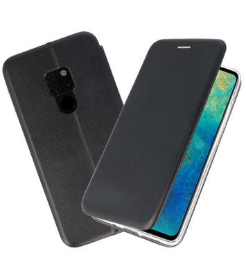 Zwart Slim Folio Case voor Huawei Mate 20