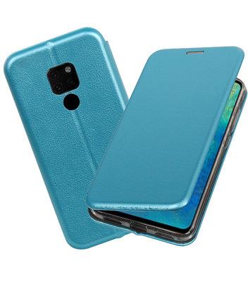 Blauw Slim Folio Case voor Huawei Mate 20