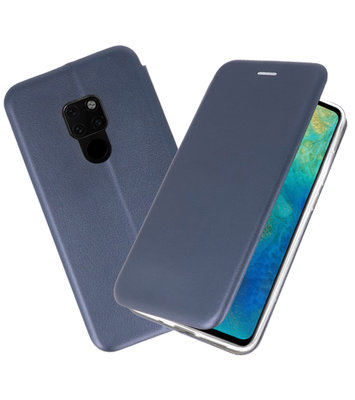 Navy Slim Folio Case voor Huawei Mate 20