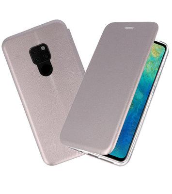Grijs Slim Folio Case voor Huawei Mate 20