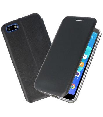 Slim Folio Case voor Huawei Y5 Lite 2018 Zwart