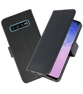 Bookstyle Wallet Cases Hoesje voor Samsung Galaxy S10 Zwart