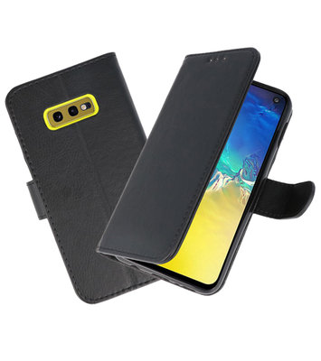 Bookstyle Wallet Cases Hoesje voor Samsung  GalaxyS10e Zwart