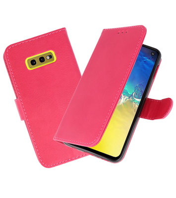 Bookstyle Wallet Cases Hoesje voor Samsung Galaxy S10e Roze
