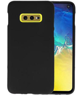 Color TPU Hoesje voor Samsung Galaxy S10e Zwart