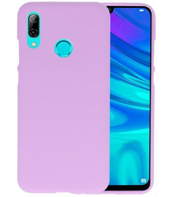 Color TPU Hoesje voor Huawei P Smart 2019 Paars