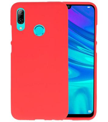 Color TPU Hoesje voor Huawei P Smart 2019 Rood