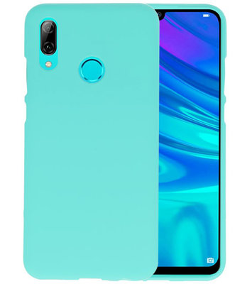 Color TPU Hoesje voor Huawei P Smart 2019 Turquoise