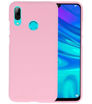 Color TPU Hoesje voor Huawei P Smart 2019 Roze