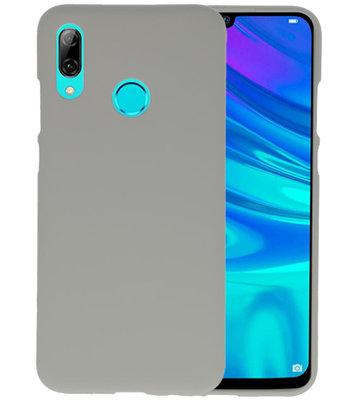Color TPU Hoesje voor Huawei P Smart 2019 Grijs