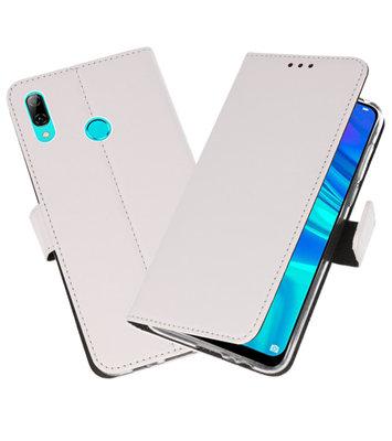 Wallet Cases Hoesje voor Huawei P Smart 2019 Wit