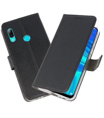 Wallet Cases Hoesje voor Huawei P Smart 2019 Zwart