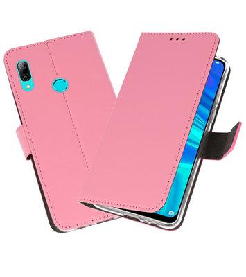 Wallet Cases Hoesje voor Huawei P Smart 2019 Roze