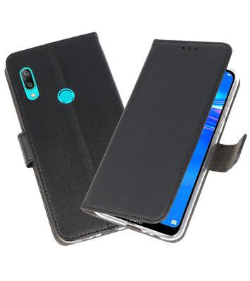 Wallet Cases Hoesje voor Huawei Y7 / Y7 Prime (2019) Zwart