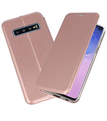 Slim Folio Case voor Samsung Galaxy S10 Roze