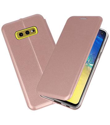 Slim Folio Case voor Samsung Galaxy S10e Roze