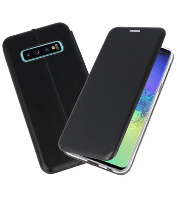 Slim Folio Case voor Samsung Galaxy S10 Plus Zwart