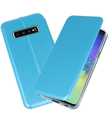 Slim Folio Case voor Samsung Galaxy S10 Plus Blauw
