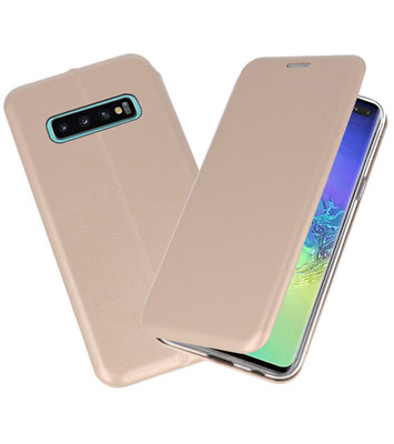 Slim Folio Case voor Samsung Galaxy S10 Plus Goud