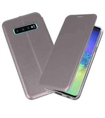Slim Folio Case voor Samsung Galaxy S10 Plus Grijs