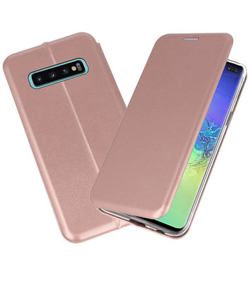 Slim Folio Case voor Samsung Galaxy S10 Plus Roze