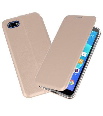 Slim Folio Case voor Huawei Y5 Lite / Y5 Prime 2018 Goud