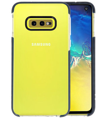 Armor TPU Hoesje voor Samsung Galaxy S10e Transparant / Zwart