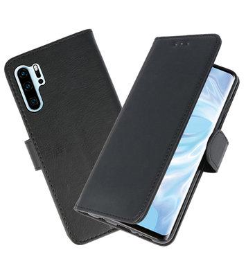 Bookstyle Wallet Cases Hoesje voor Huawei P30 Pro Zwart