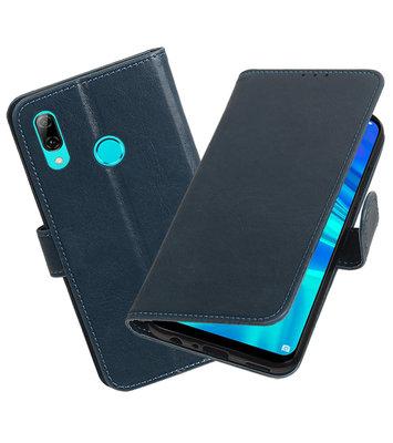 Motief Bookstyle Hoesje voor Huawei Honor 10 Lite Blauw